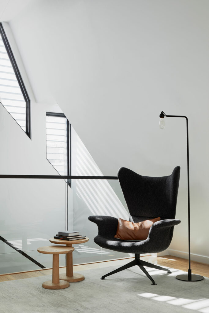 Maike Design lounge chair and skylight