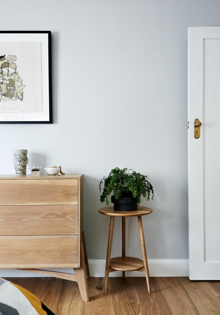 Maike Design grey bedroom and timber furniture