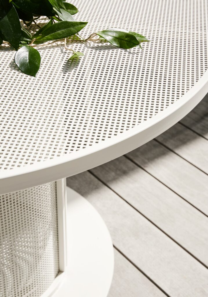 Maike Design furniture detail with plant